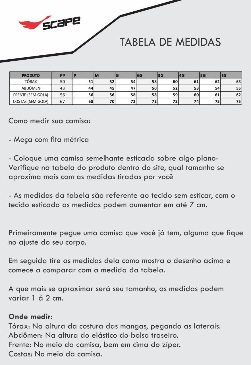 Camisa Ciclismo Justiceiro 2.0 Manga Longa