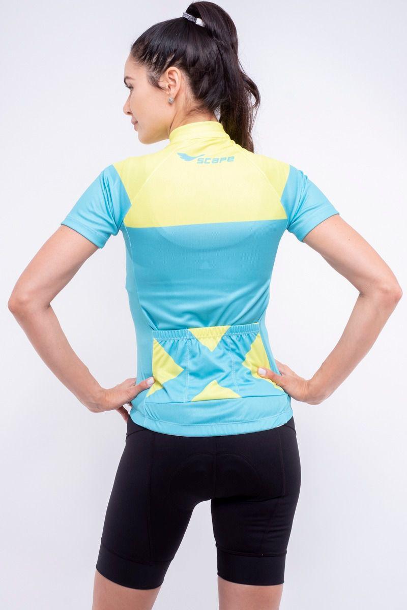 Camisa Ciclismo Lemon