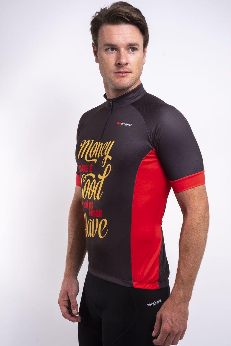 Camisa Ciclismo Money que é good