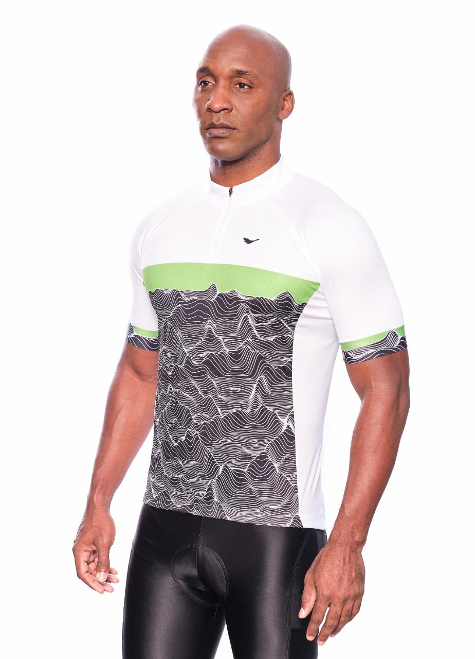 Camisa Ciclismo Montanhas