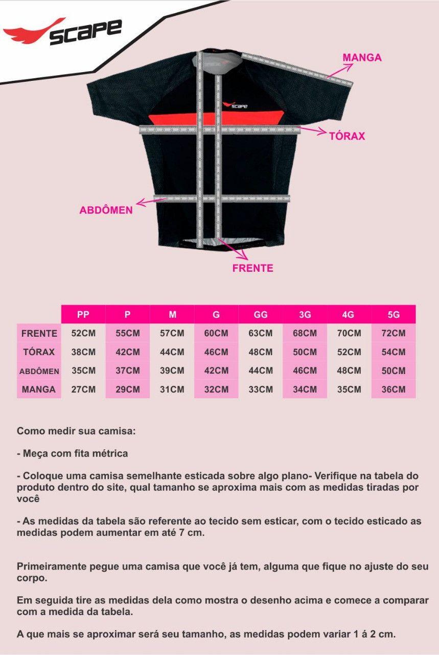Camisa Ciclismo Nasa Manga Curta Feminina
