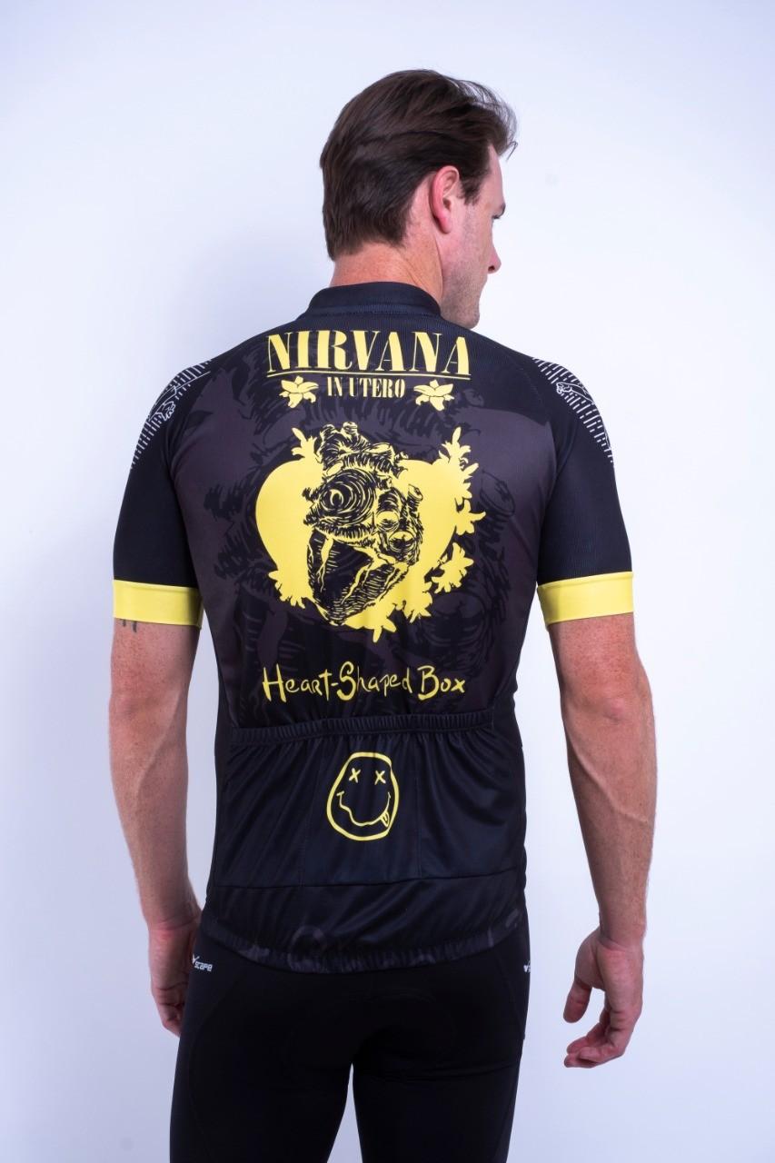 Camisa Ciclismo Nirvana