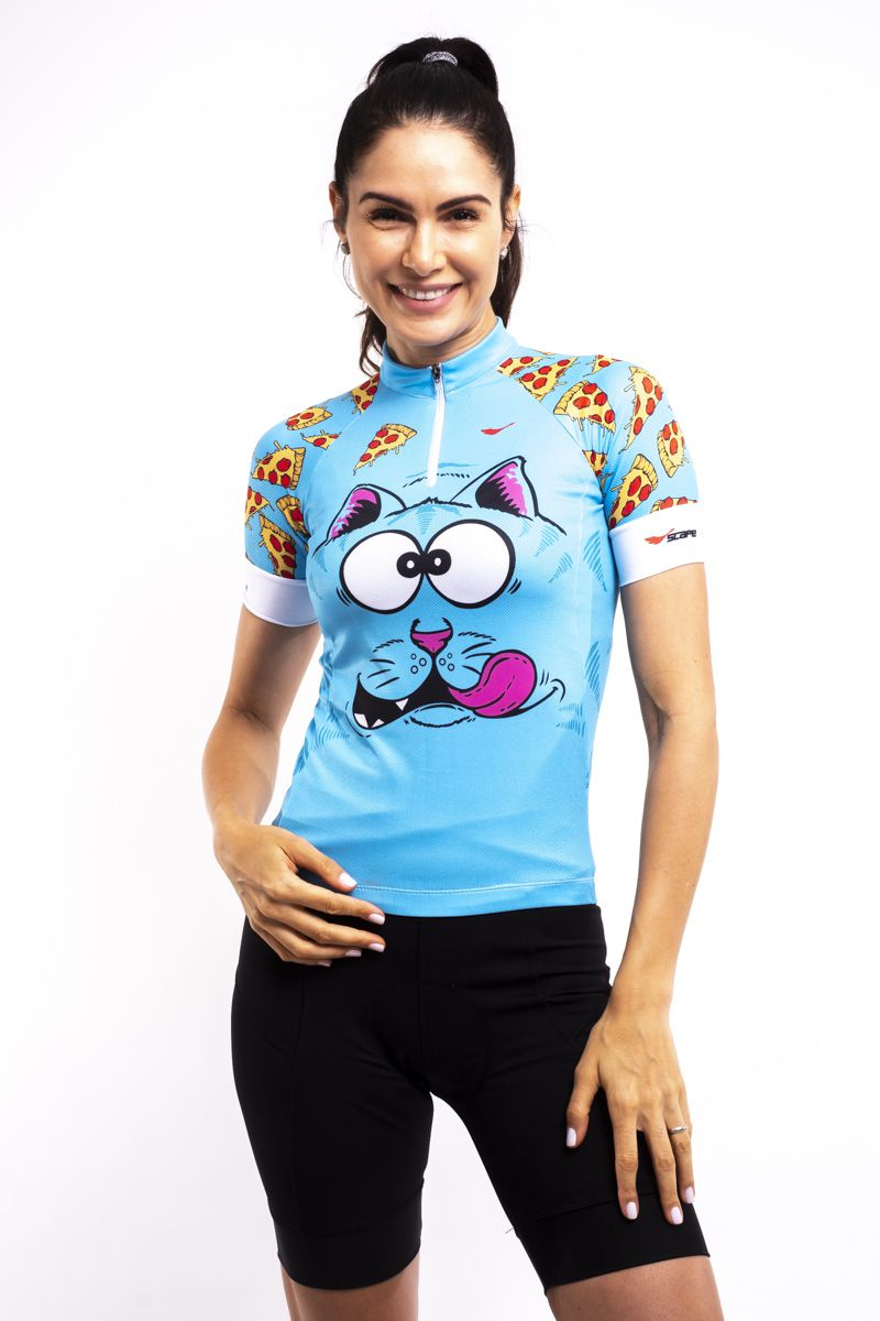 Camisa Ciclismo Pizza