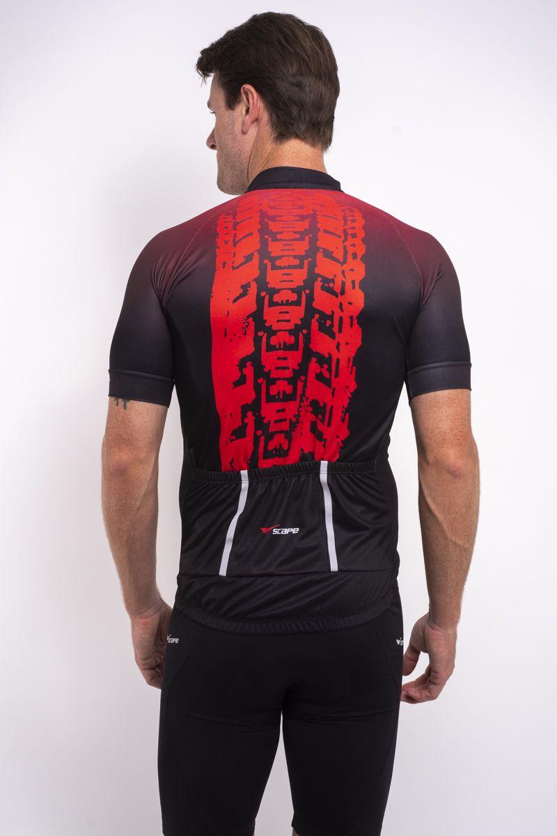 Camisa Ciclismo Pneu Manga Curta