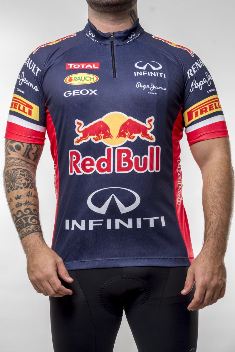 Camisa Ciclismo Red Bull