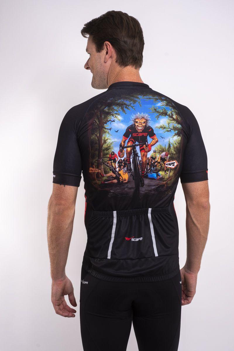 Camisa Ciclismo Rock