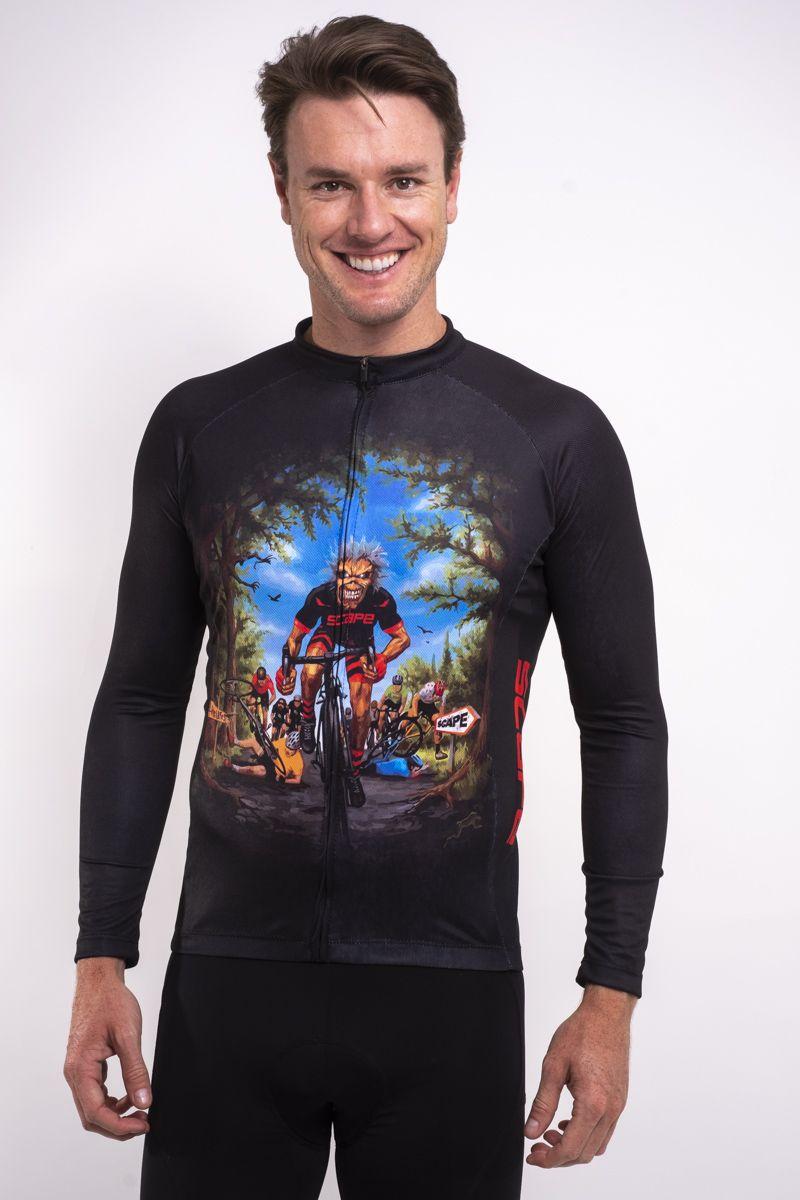 Camisa Ciclismo Rock Cycling Manga Longa