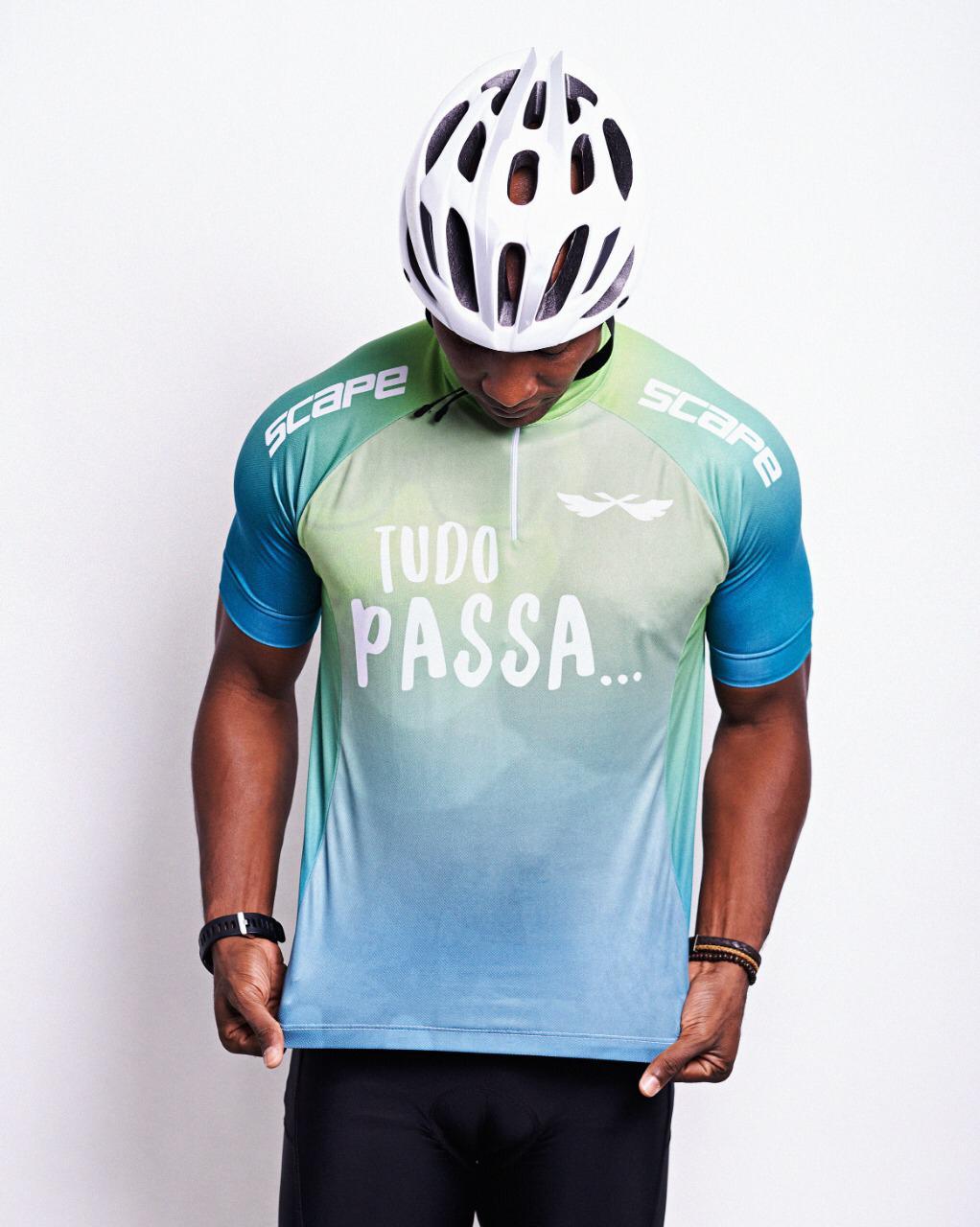 Camisa Ciclismo Scape Tudo Passa