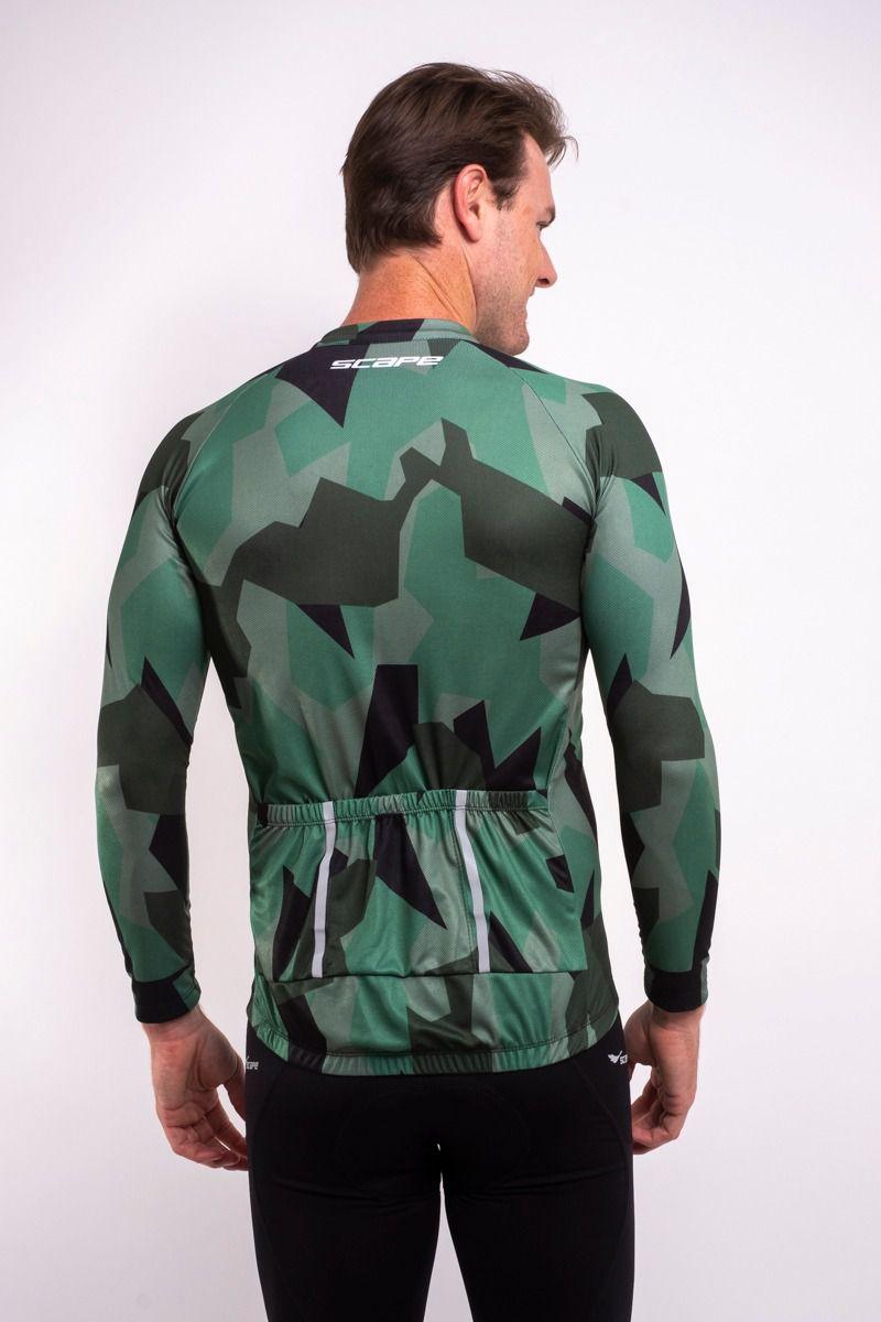 Camisa Ciclismo Selva Manga Longa
