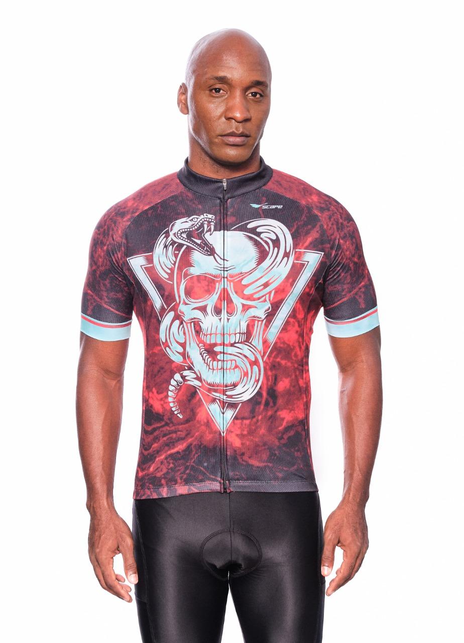 Camisa Ciclismo Serpente