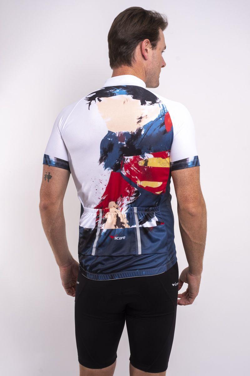 Camisa Ciclismo Super Homem 2.0