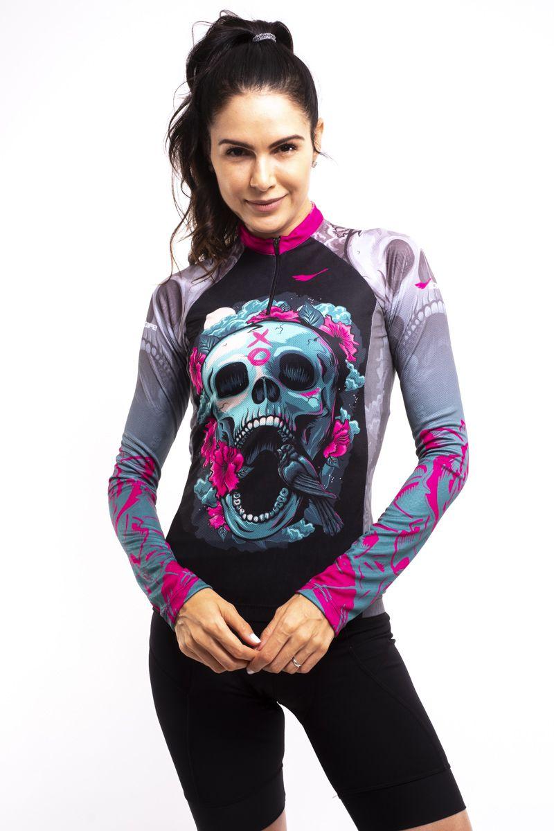 Camisa Ciclismo Trevosa Manga Longa