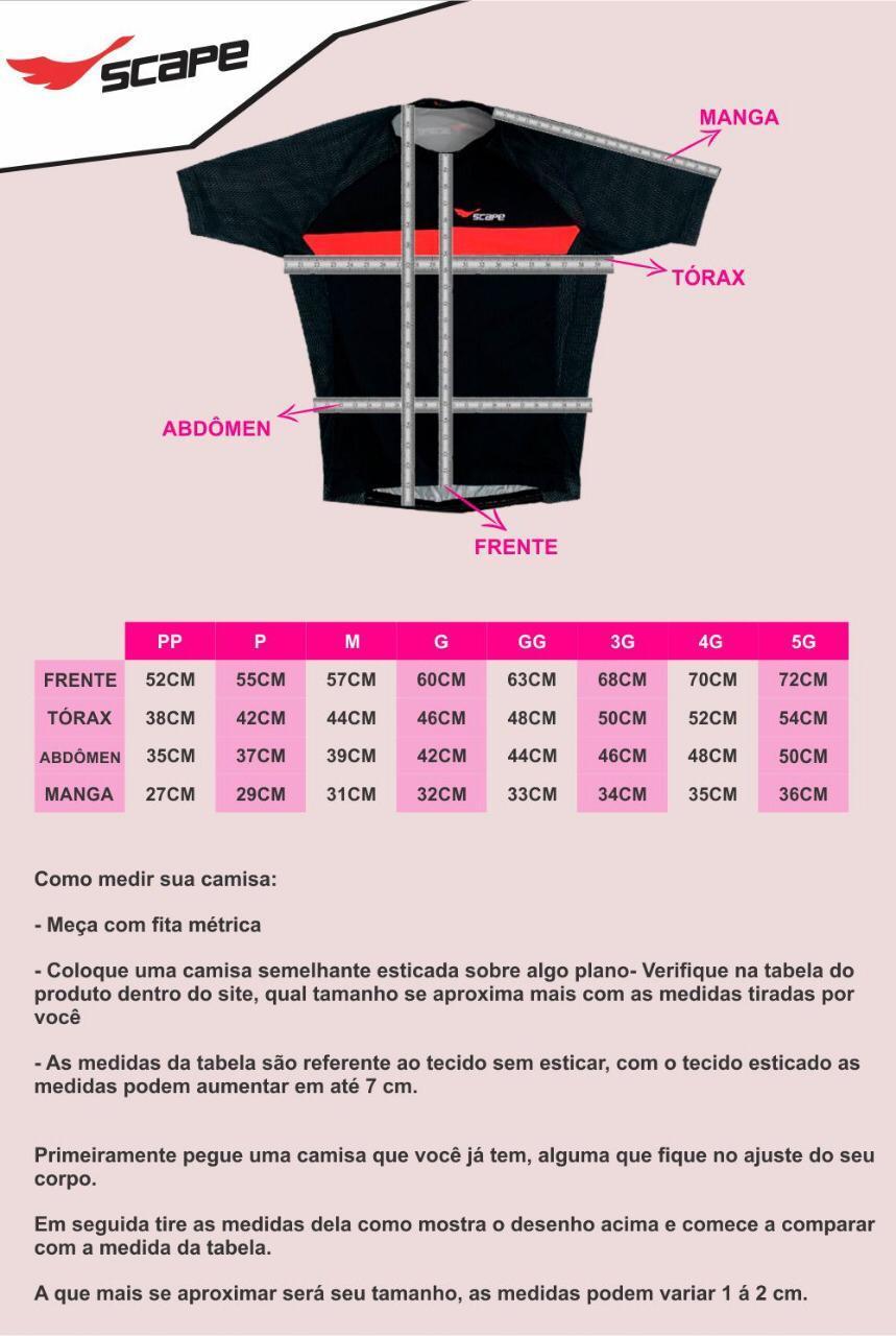 Camisa Ciclismo Zebra Colorida