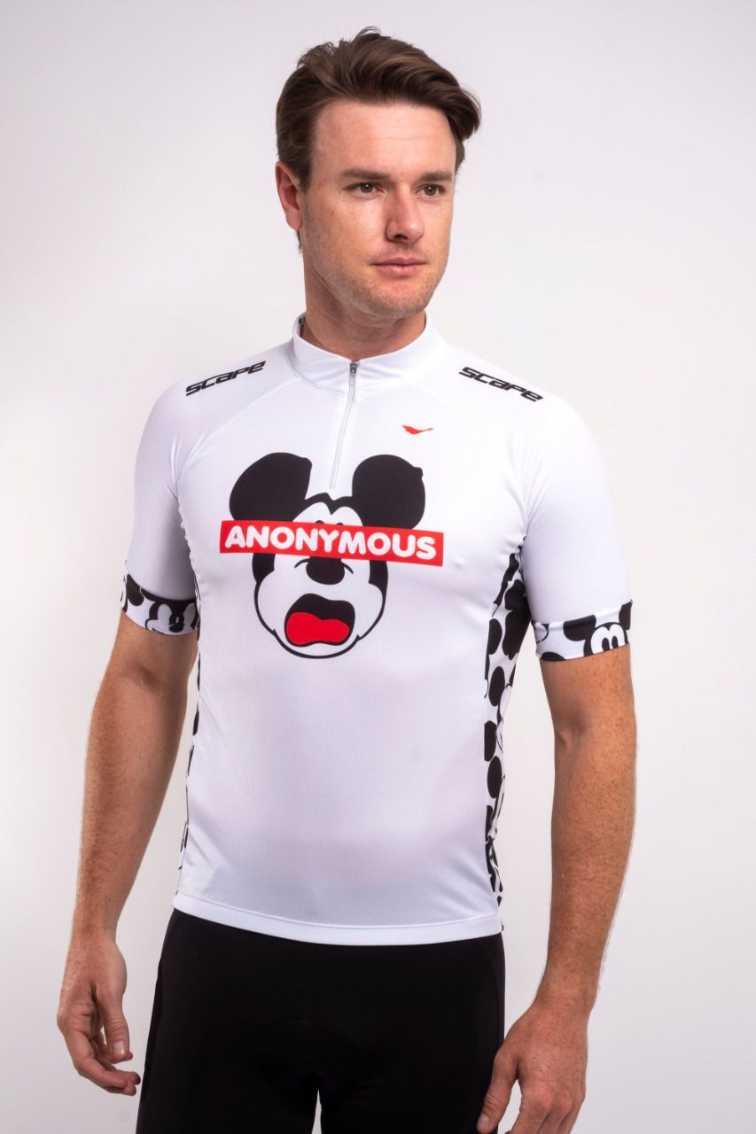 Camisa De Ciclismo Anonymous
