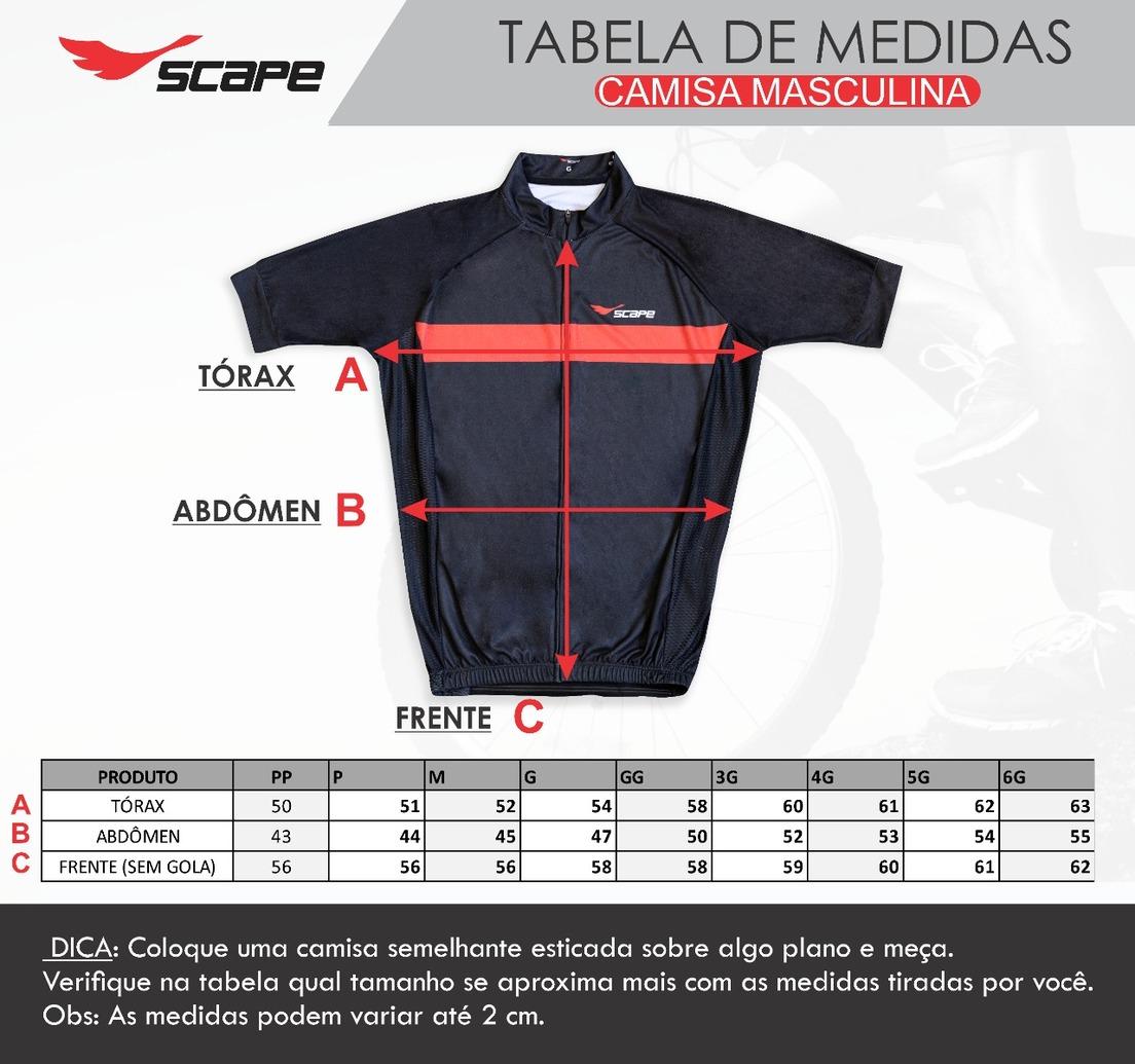 Camisa projeto Gama Degrade Laranja