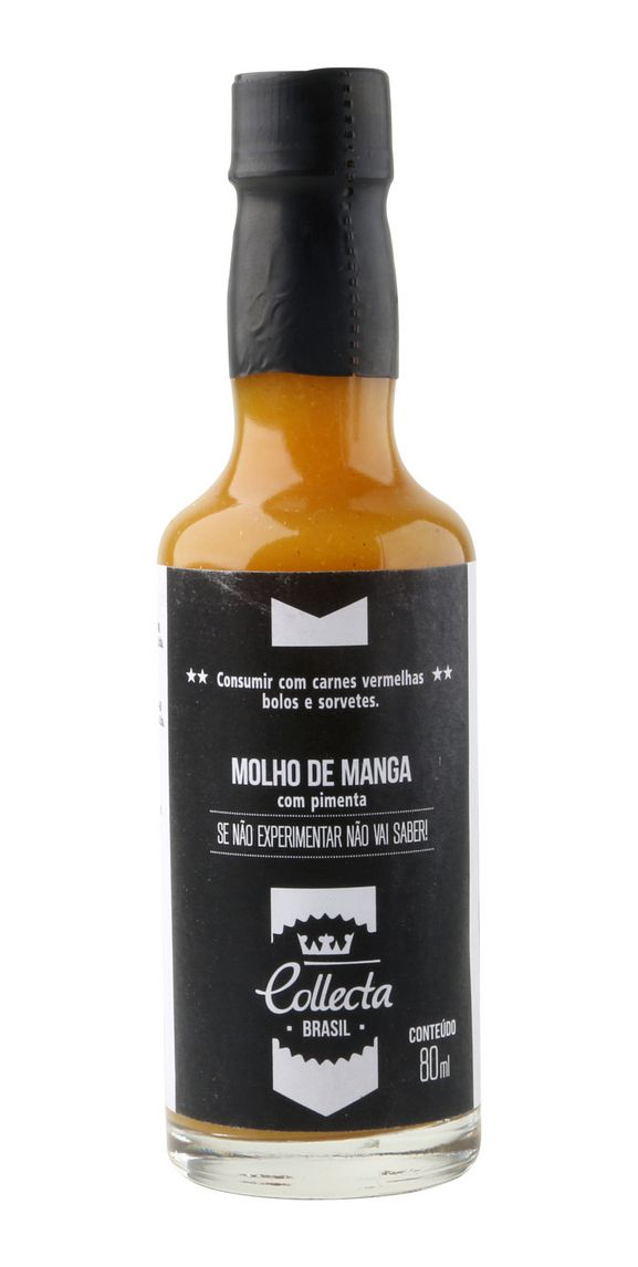 MOLHO DE MANGA COM PIMENTA 80ml