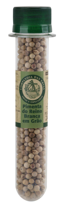 PIMENTA REINO BRANCA GRÃOS 24g