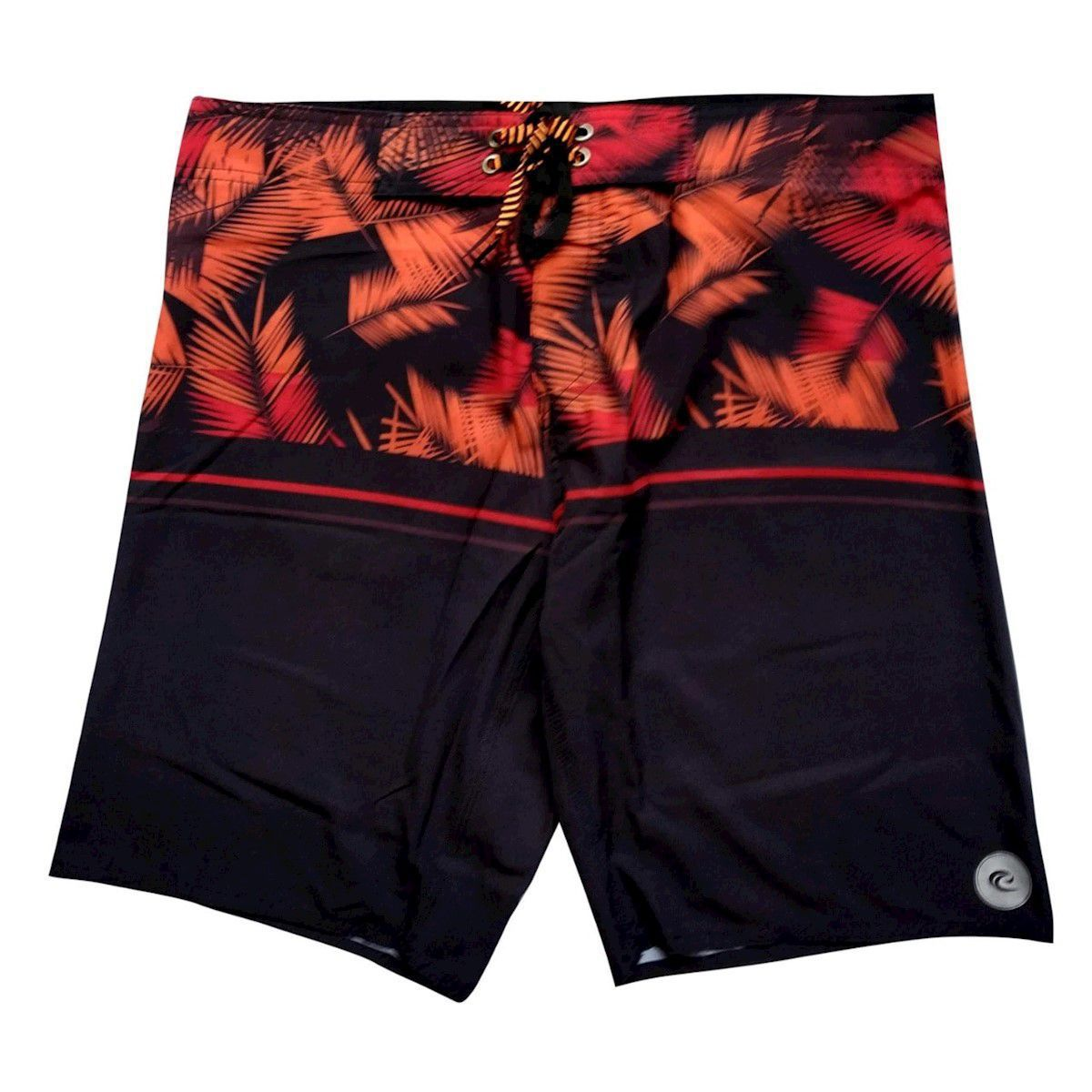 Bermuda Boardshort Stretch WSS Tropical Red