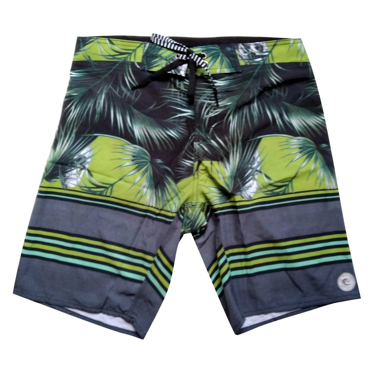 Bermuda Boardshort Stretch WSS Tropical Skull
