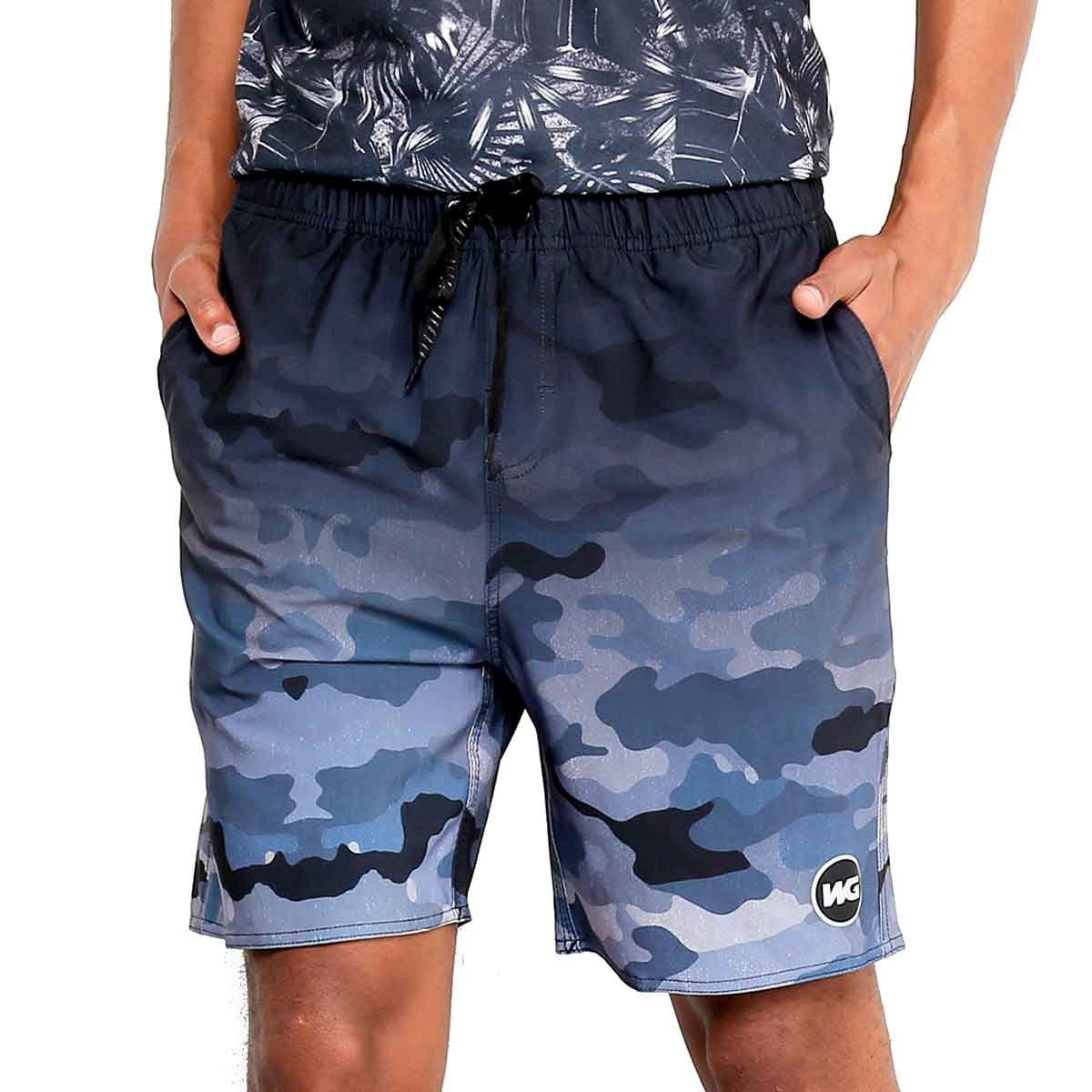Bermuda Boardshort WG Volley Camo Fun
