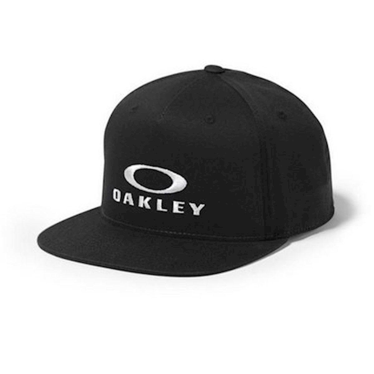 Boné Oakley Sliver 110 Flexfit Har Jet Black