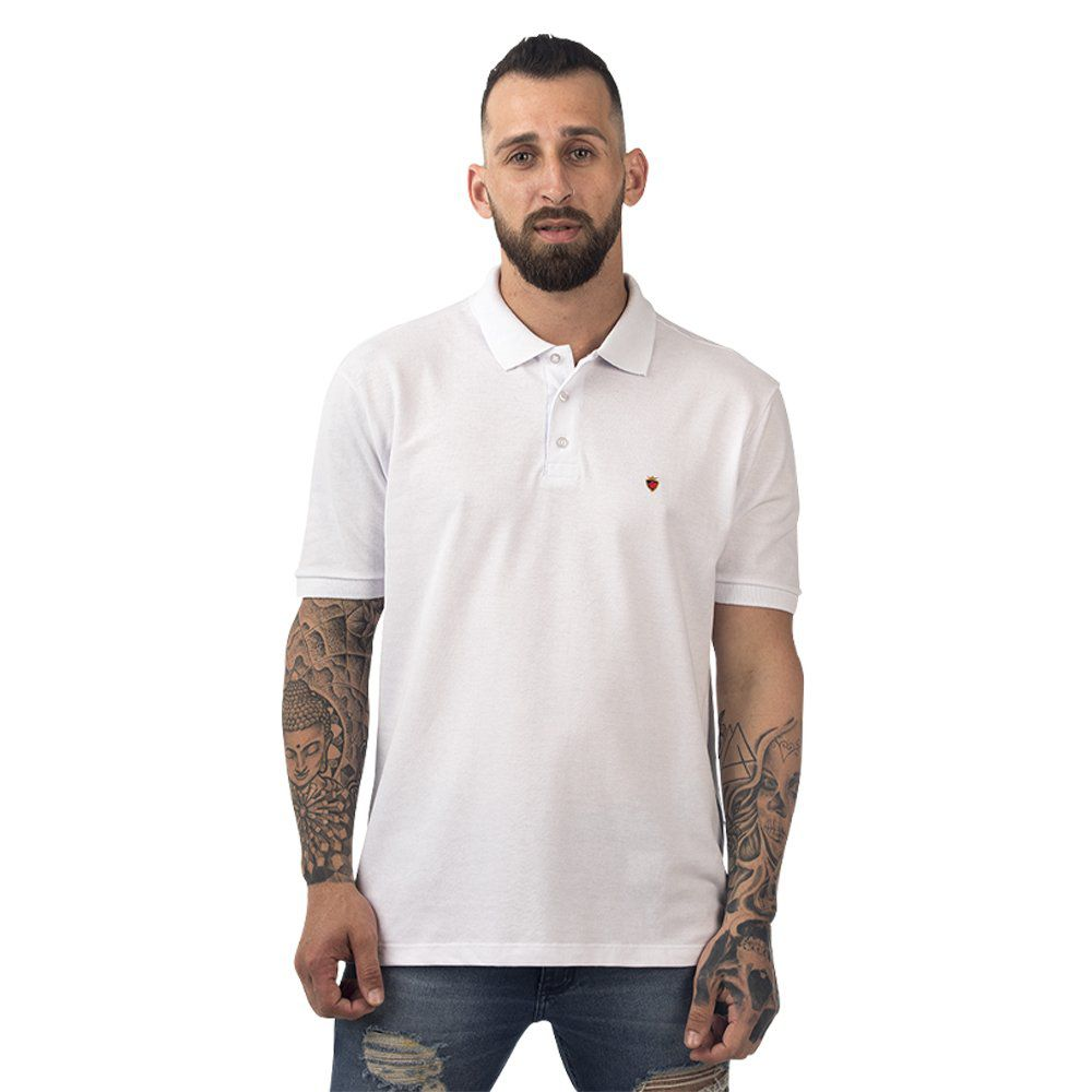 Camisa Polo Poker Stars  + Relógio de Bolso
