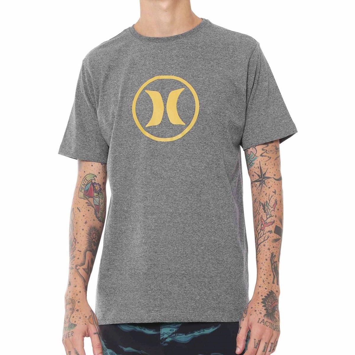 Camiseta hurley circle icon