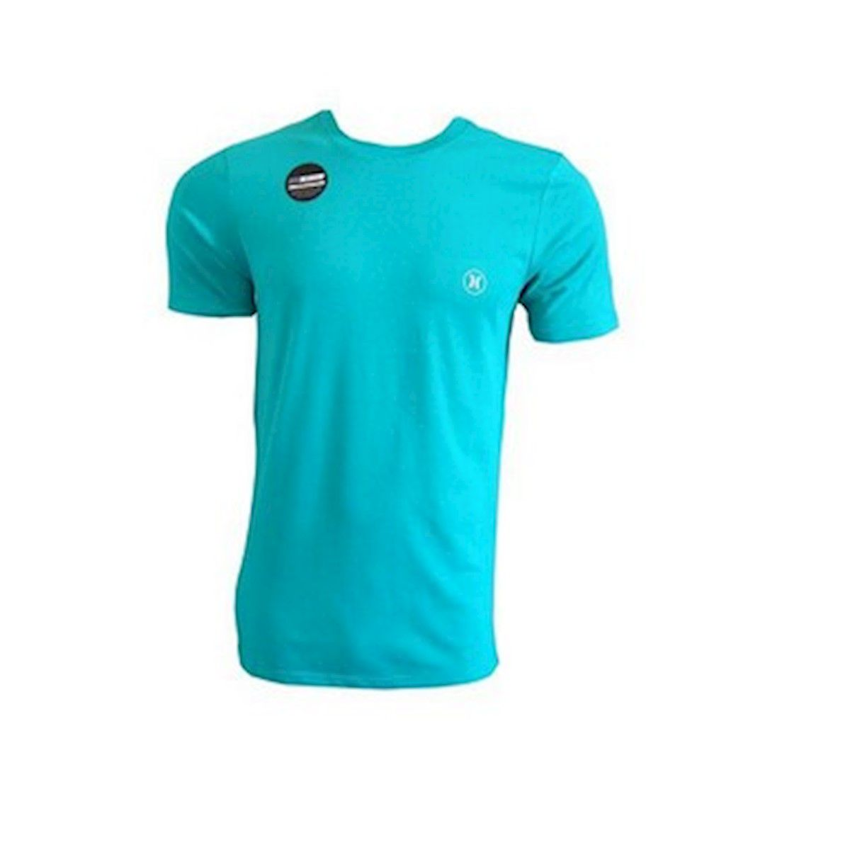 Camiseta Hurley DRI-FIT Lagos Port Crew Verde Oliva