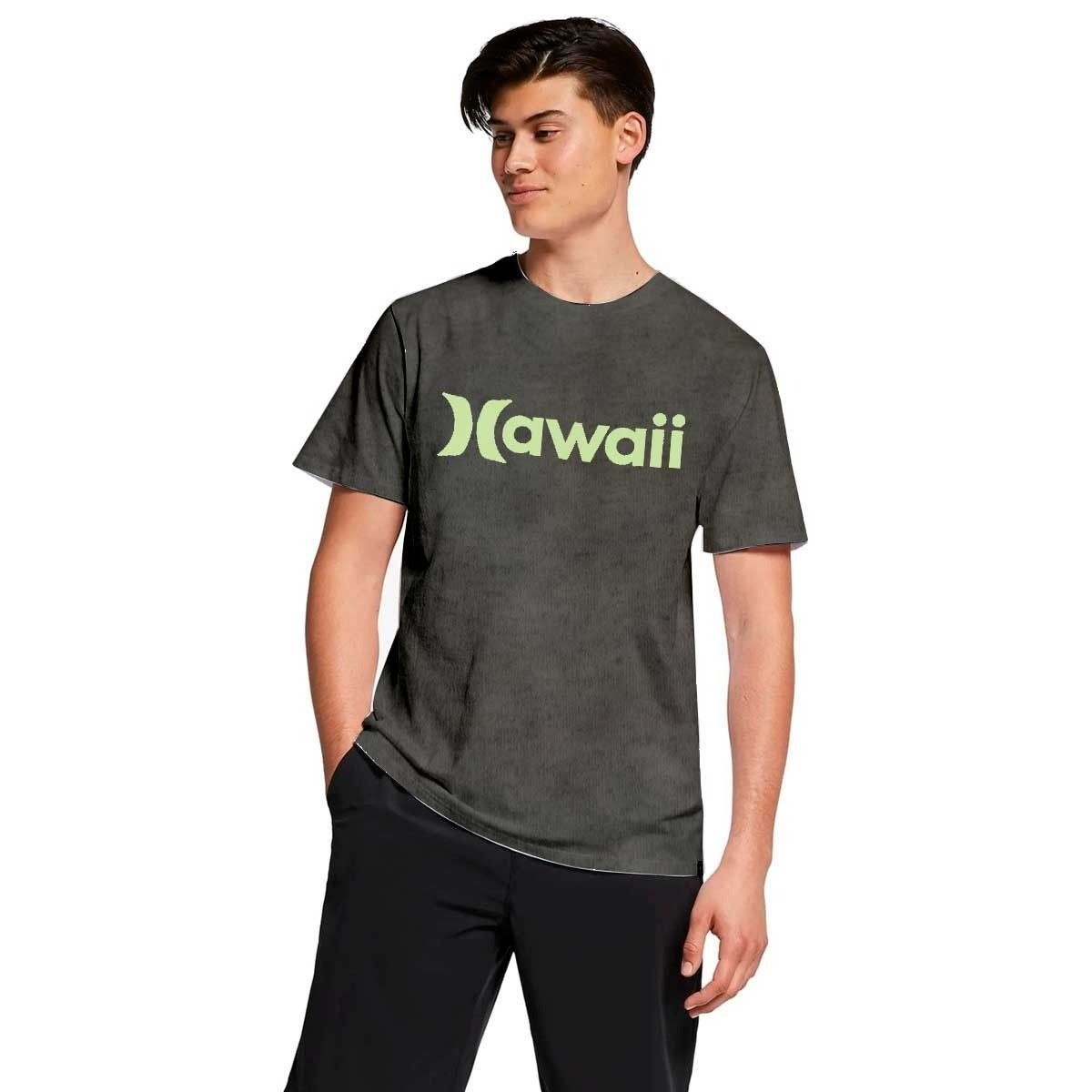 Camiseta Hurley Hawaii Silk Green