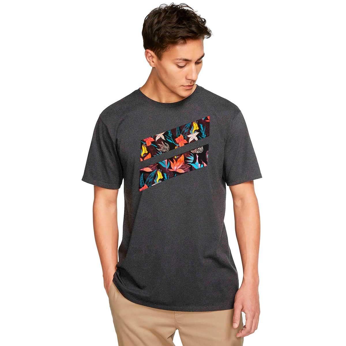 Camiseta Hurley Silk Icon Slash Grey