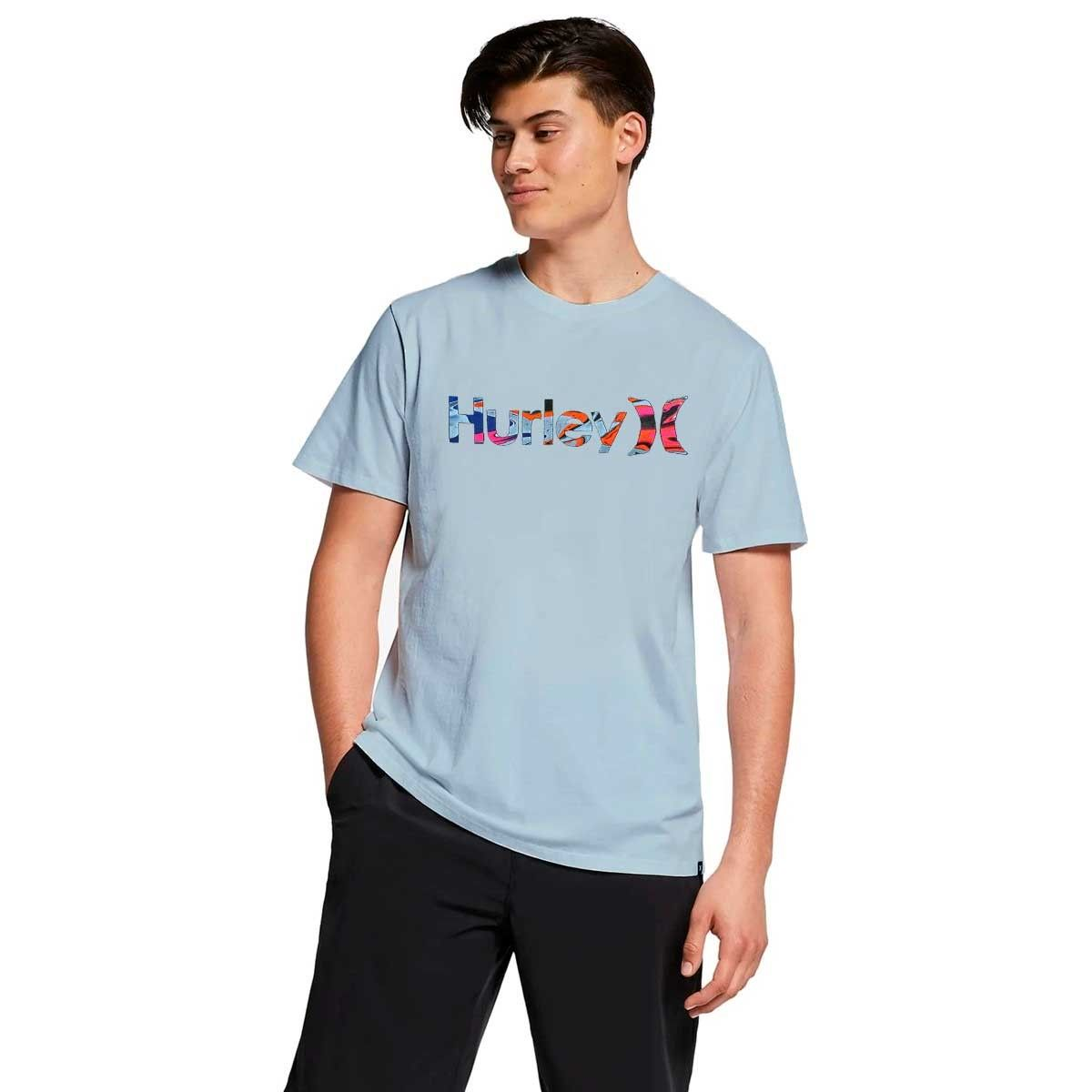 Camiseta Hurley Silk Oeo Voodoo Blue