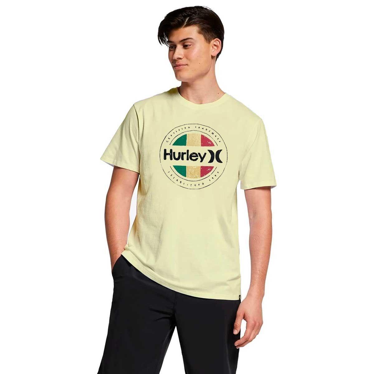 Camiseta Hurley Silk Resistance Yellow