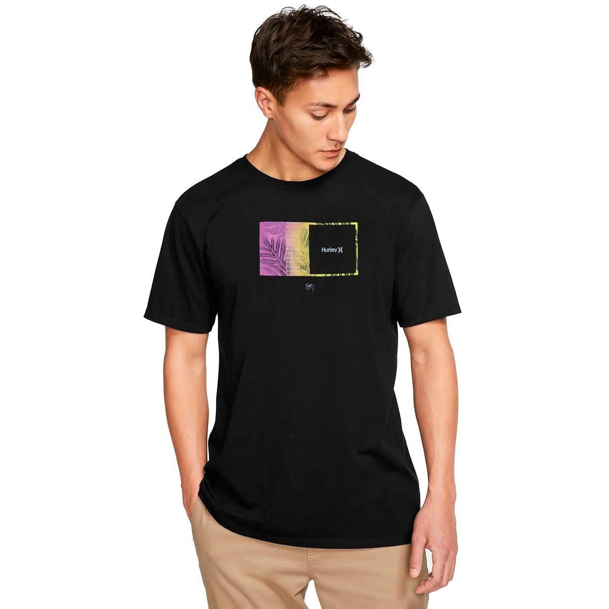 Camiseta Hurley Silk Sig Zane Moorea