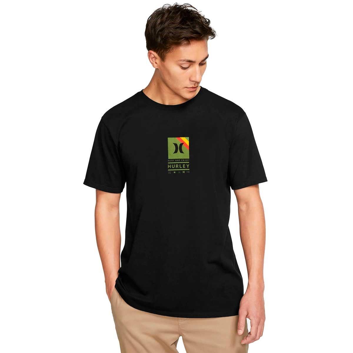Camiseta Hurley Silk Vibex Black