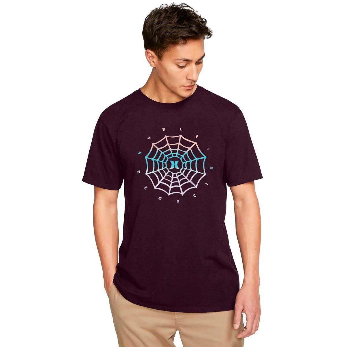 Camiseta Hurley Silk Web Logo