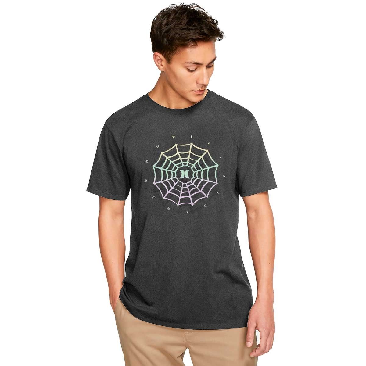 Camiseta Hurley Silk Web Logo Grey
