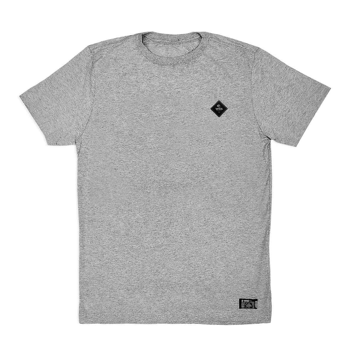 Camiseta Masculina Plus Size Prime WSS Diamond Gray