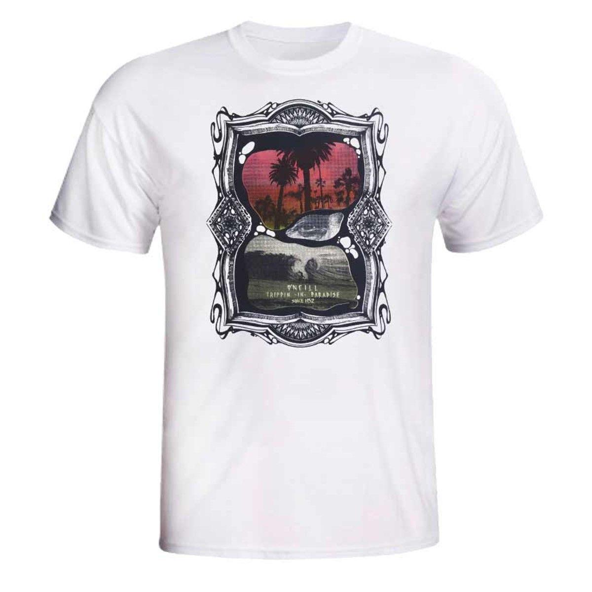 Camiseta O'Neill Apocalypse Mescla White