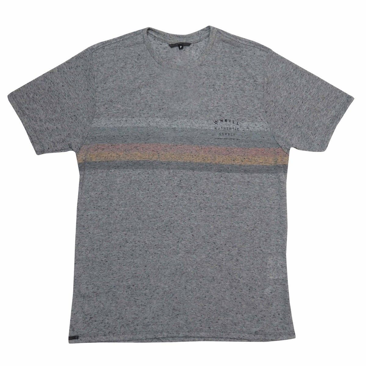 Camiseta O'Neill Estampa Bad Vibes Mescla Grey