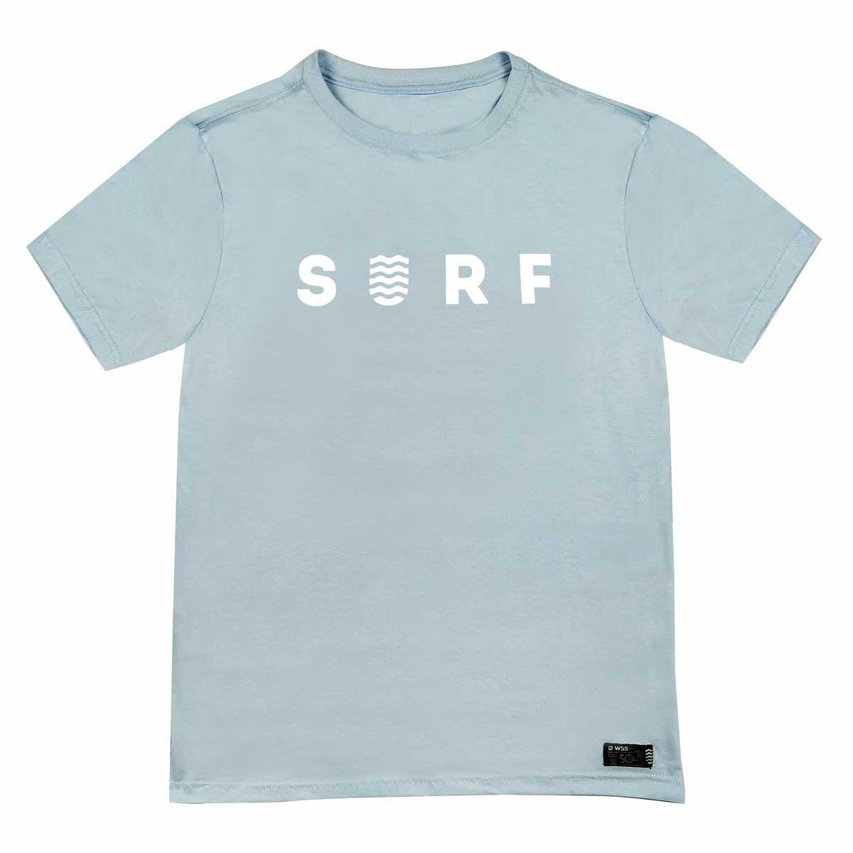 Camiseta Plus Size WSS Brasil Surf Aqua