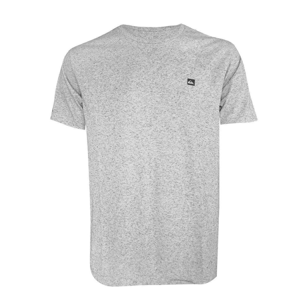 Camiseta Quiksilver Supertransfer Grey Heat