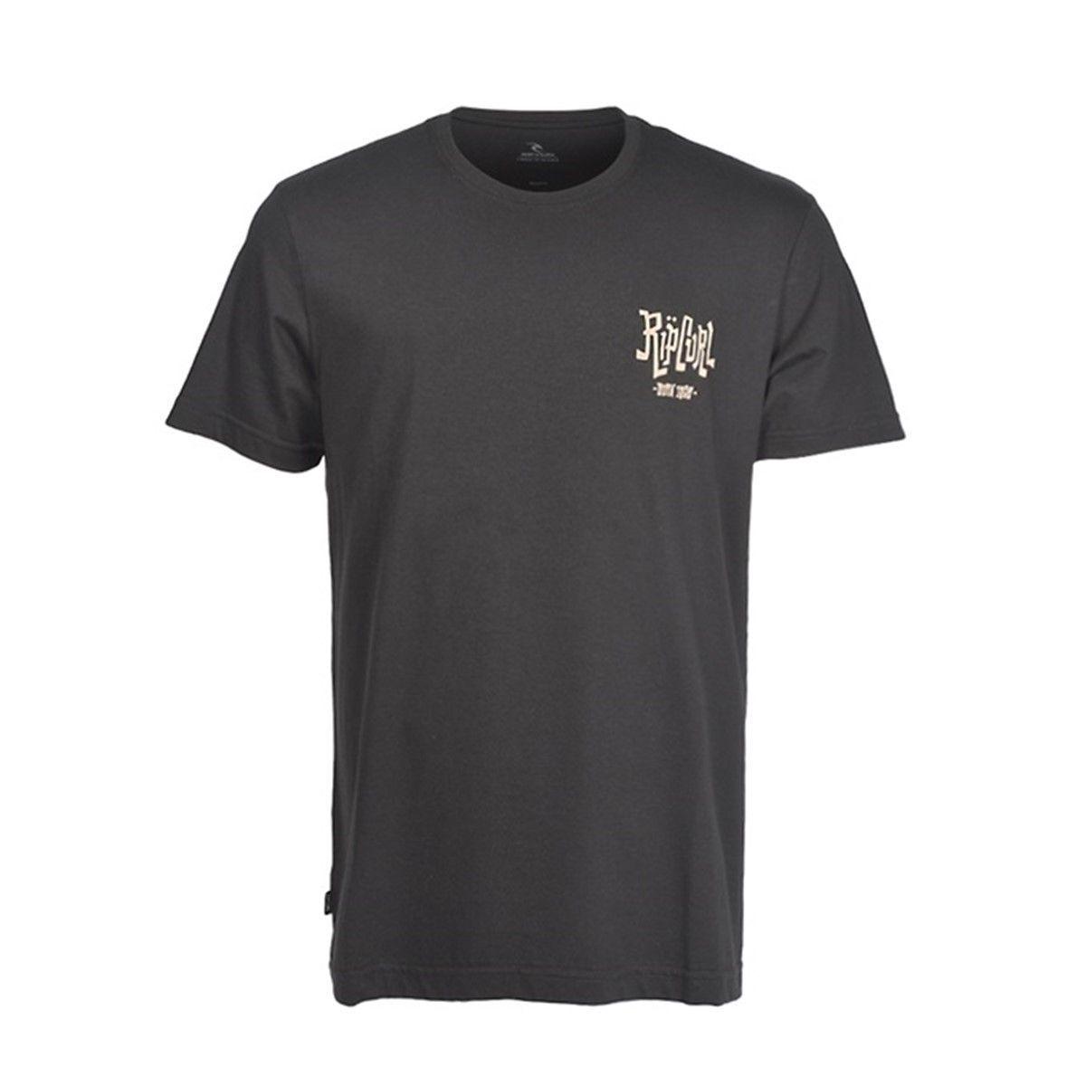 Camiseta Rip Curl Schorched Black