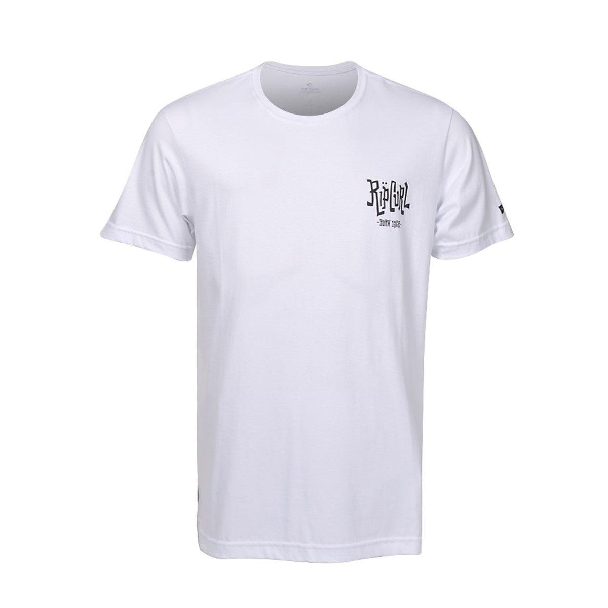 Camiseta Rip Curl Schorched White
