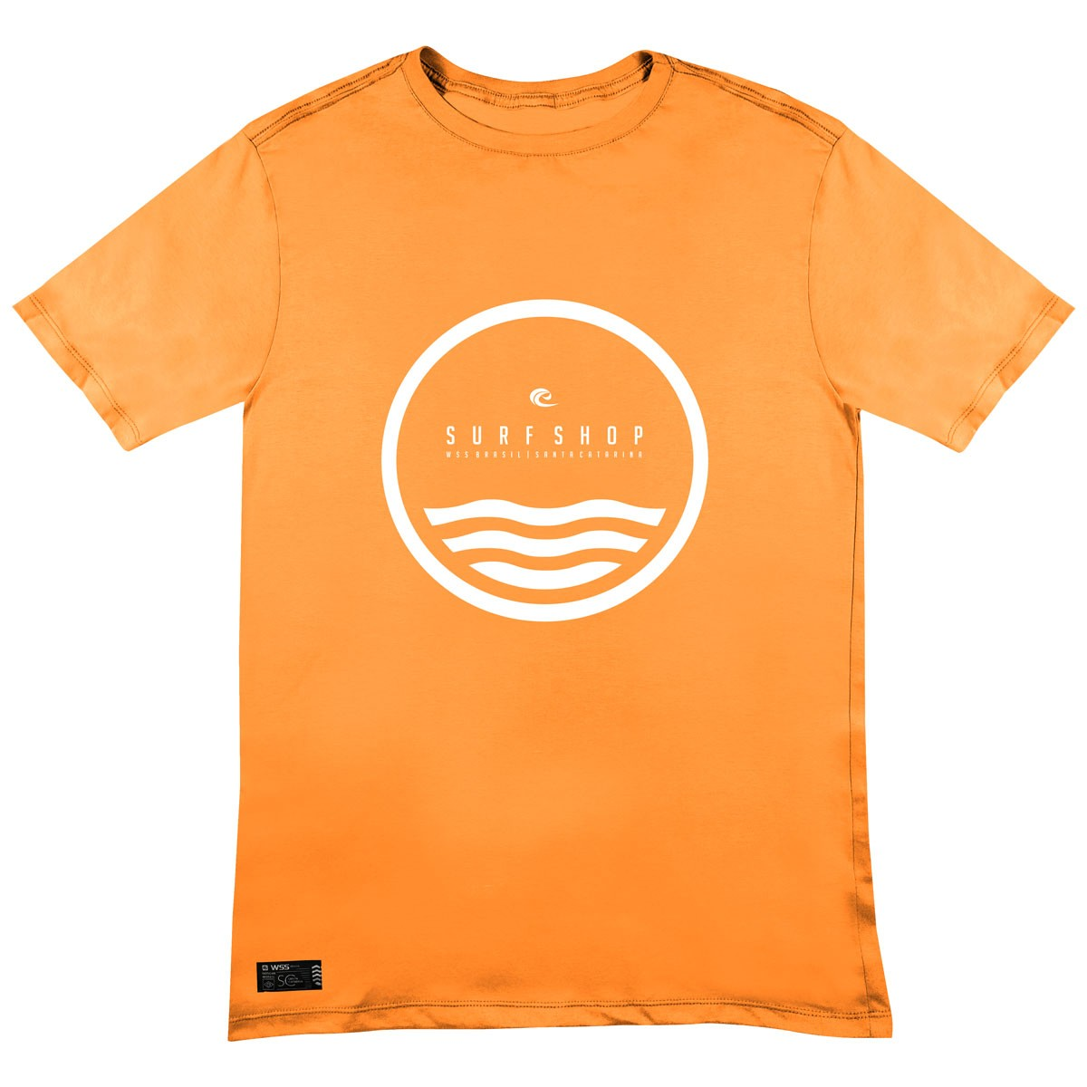 Camiseta WSS Brasil Circle Orange