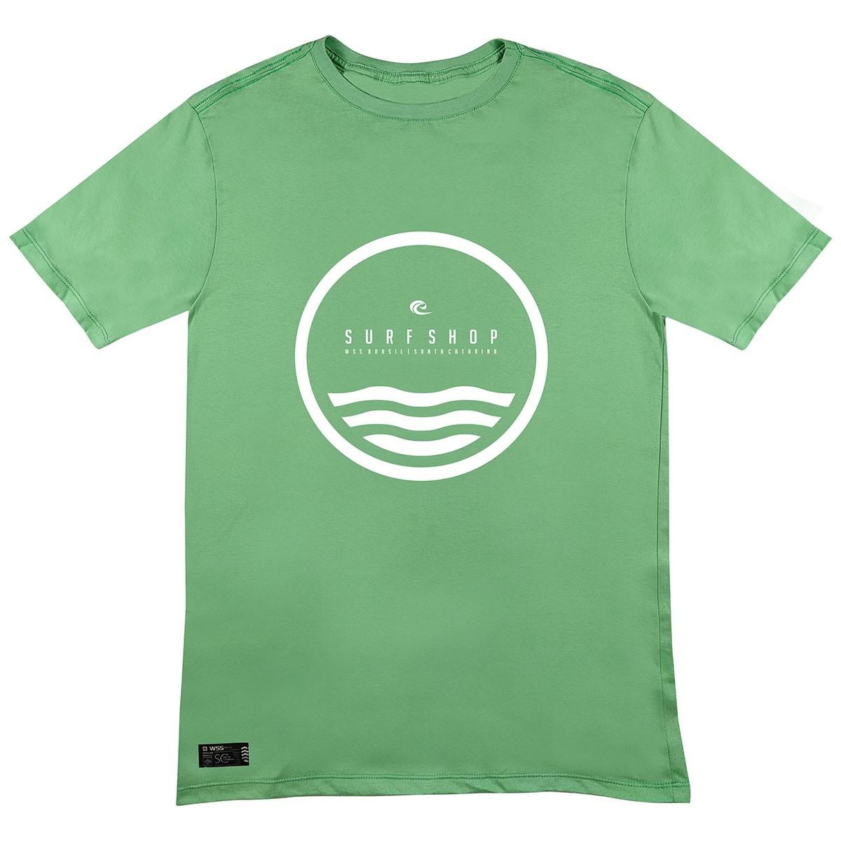 Camiseta WSS Brasil Circle Green