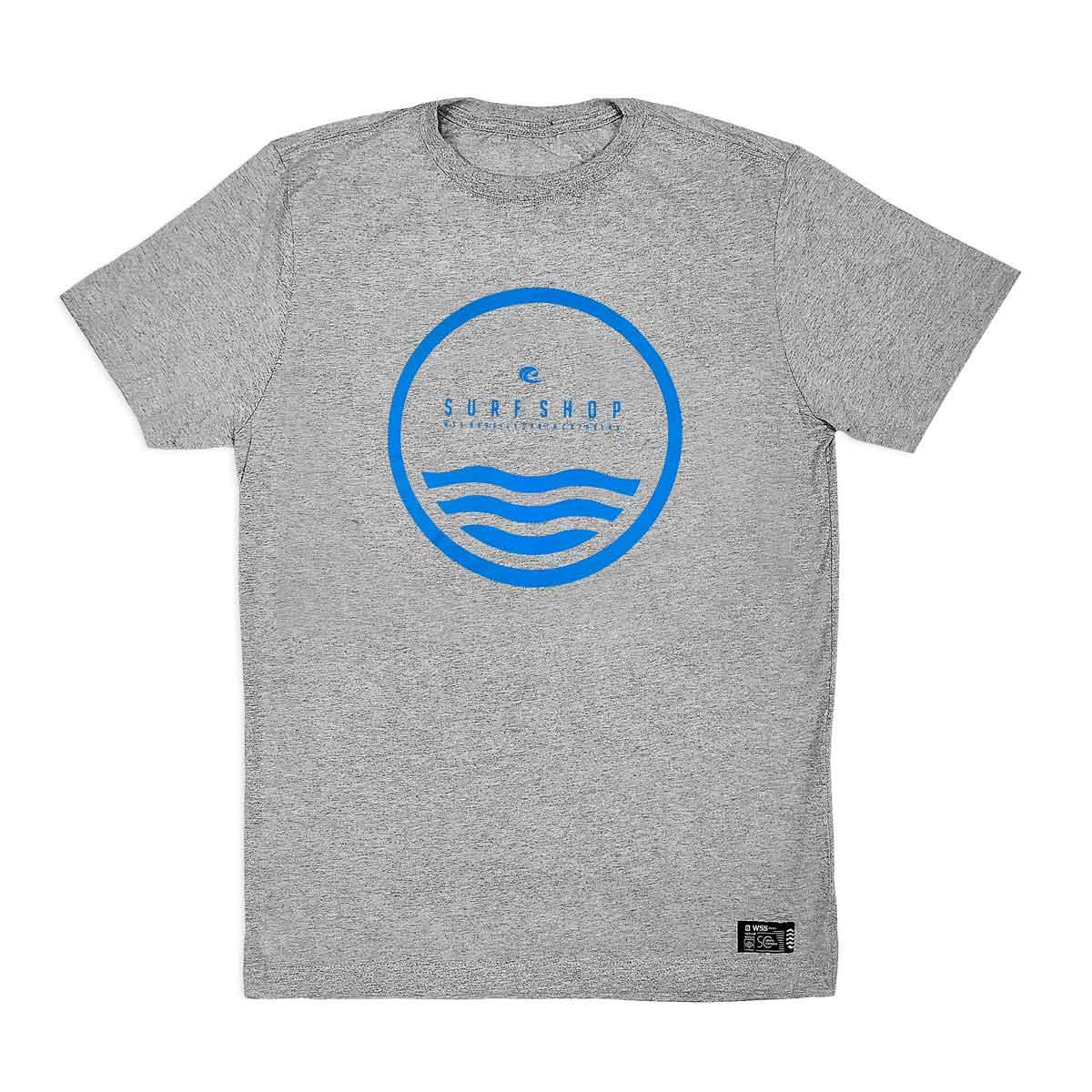 Camiseta WSS Brasil Circle Grey