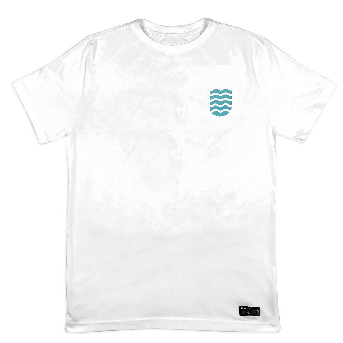 Camiseta WSS Brasil Icon Surf White