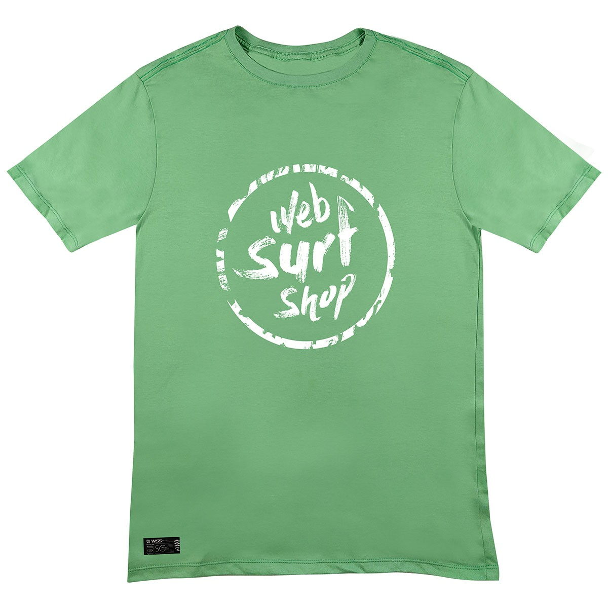 Camiseta WSS Brasil Ink Web Green
