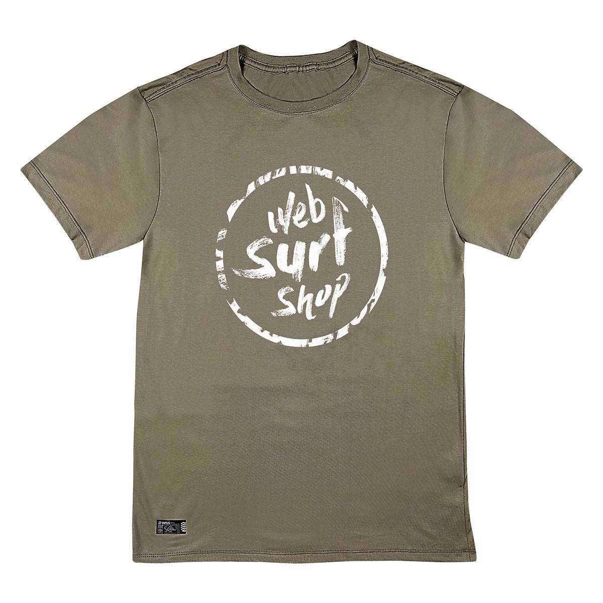 Camiseta WSS Brasil Ink Web Khaki