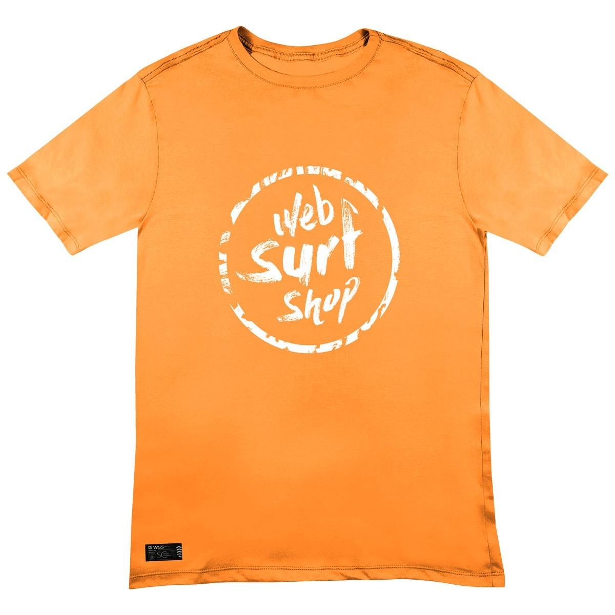 Camiseta WSS Brasil Ink Web Orange
